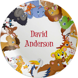Animals Melamine Plate (Personalized)