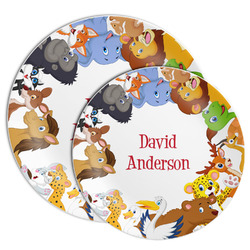 Animals Melamine Plate (Personalized)