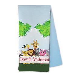 Animals Microfiber Kitchen Towel (Personalized)