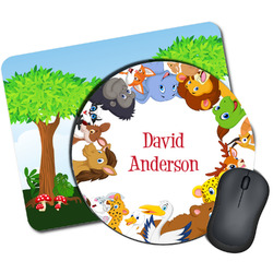 Animals Mouse Pads (Personalized)