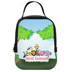 Animals Neoprene Lunch Tote (Personalized)