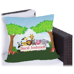 Animals Outdoor Pillow (Personalized)