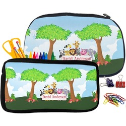 Animals Pencil / School Supplies Bag (Personalized)