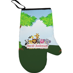 Animals Oven Mitt (Personalized)