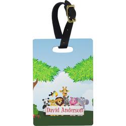 Animals Rectangular Luggage Tag (Personalized)