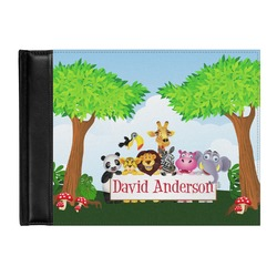 Animals Genuine Leather Guest Book (Personalized)