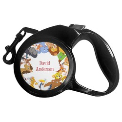 Animals Retractable Dog Leash (Personalized)
