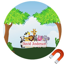 Animals Car Magnet (Personalized)