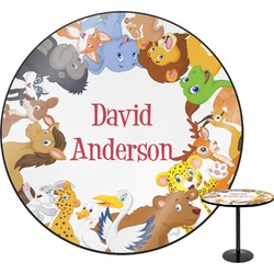 Animals Round Table (Personalized)