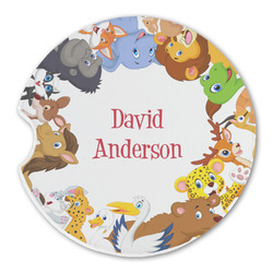 Animals Sandstone Car Coasters (Personalized)