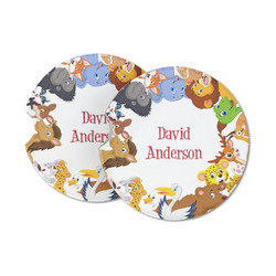 Animals Sandstone Car Coasters (Personalized)