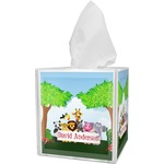 Animals Tissue Box Cover (Personalized)