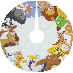 Animals Tree Skirt (Personalized)