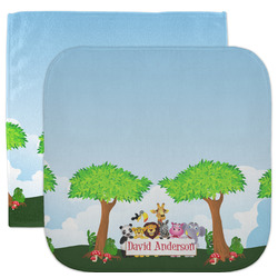 Animals Facecloth / Wash Cloth (Personalized)