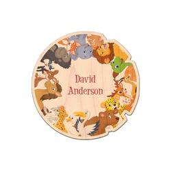 Animals Genuine Wood Sticker (Personalized)