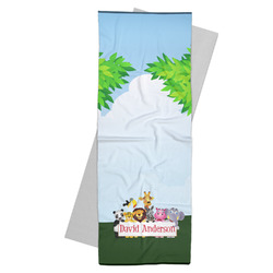 Animals Yoga Mat Towel (Personalized)