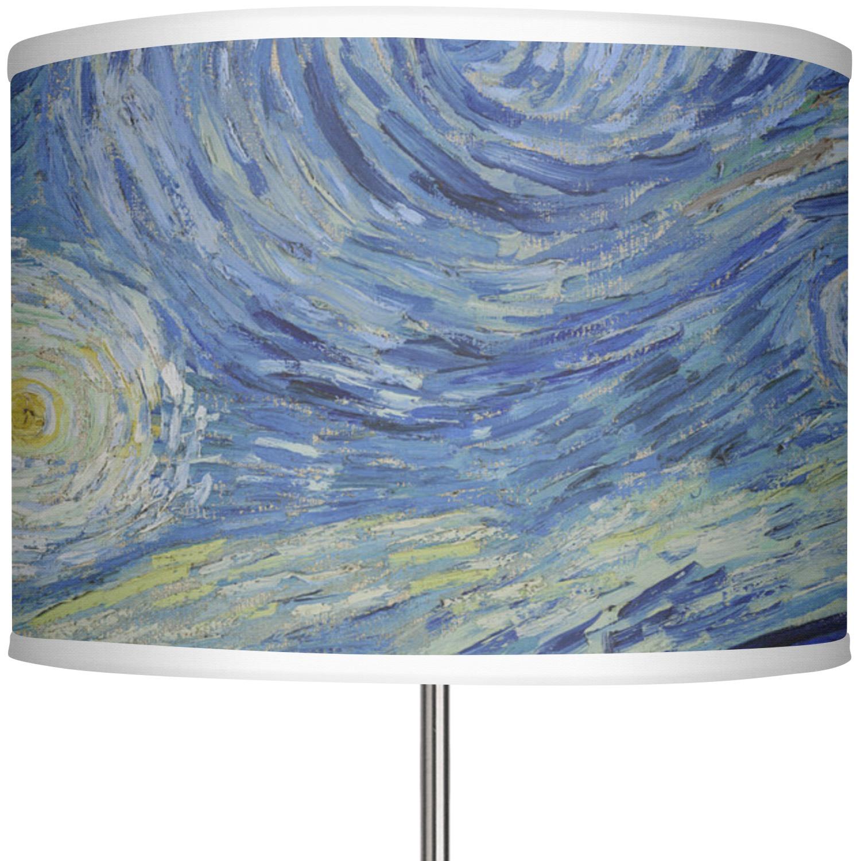 The Starry Night Van Gogh 1889 13 Drum Lamp Shade