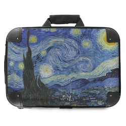 The Starry Night (Van Gogh 1889) Hard Shell Briefcase