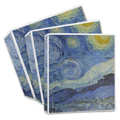 The Starry Night (Van Gogh 1889) 3-Ring Binder