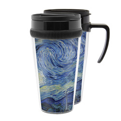 The Starry Night (Van Gogh 1889) Acrylic Travel Mugs