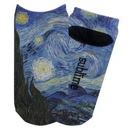The Starry Night (Van Gogh 1889) Adult Ankle Socks