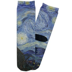 The Starry Night (Van Gogh 1889) Adult Crew Socks
