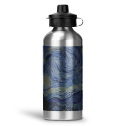 The Starry Night (Van Gogh 1889) Water Bottle - Aluminum - 20 oz