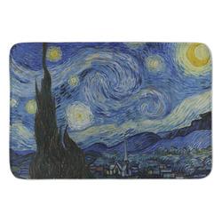 The Starry Night (Van Gogh 1889) Anti-Fatigue Kitchen Mat