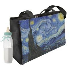 The Starry Night (Van Gogh 1889) Diaper Bag