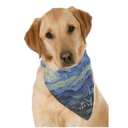 The Starry Night (Van Gogh 1889) Pet Bandanas