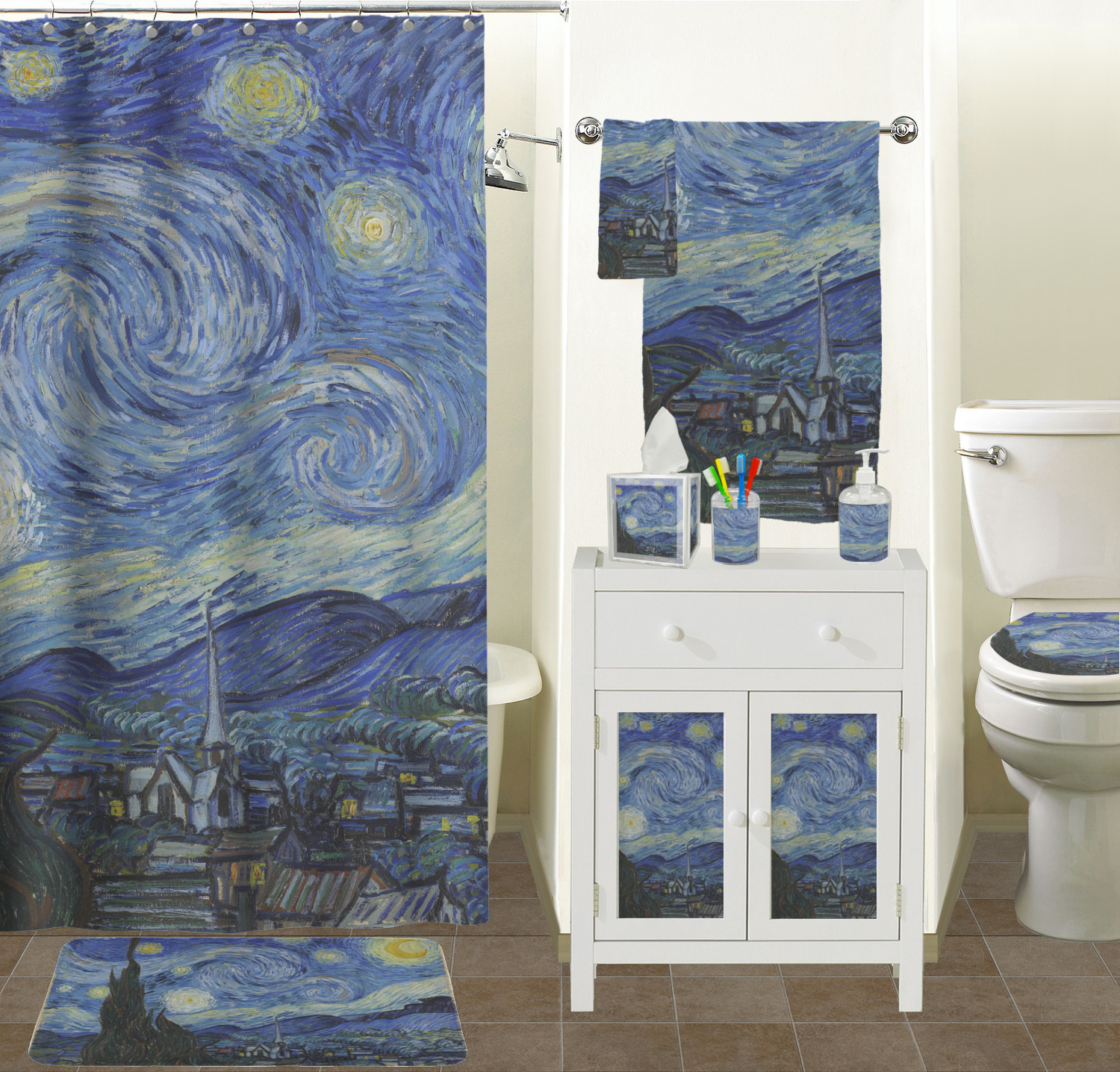 Starry night bathroom set 28 images the starry night for H j bathrooms southport