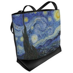 The Starry Night (Van Gogh 1889) Beach Tote Bag