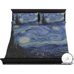 The Starry Night (Van Gogh 1889) Duvet Cover Set - King