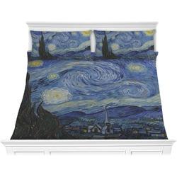 The Starry Night (Van Gogh 1889) Comforter Set - King