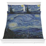 The Starry Night (Van Gogh 1889) Comforters