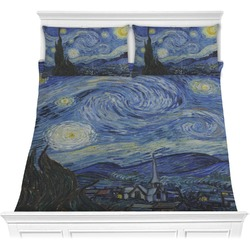 The Starry Night (Van Gogh 1889) Comforter Set