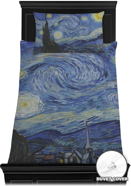 the starry night van gogh 1889 duvet cover set you