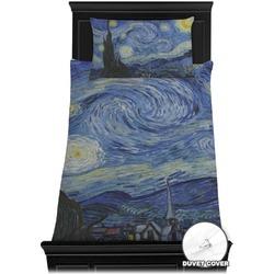 The Starry Night (Van Gogh 1889) Duvet Cover Set - Twin