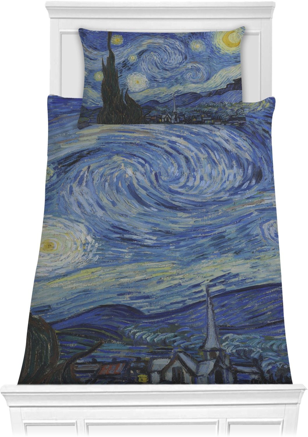 The Starry Night Van Gogh 1889 Comforter Set