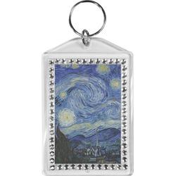 The Starry Night (Van Gogh 1889) Bling Keychain