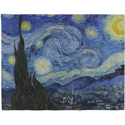 The Starry Night (Van Gogh 1889) Woven Fabric Placemat - Twill