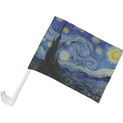The Starry Night (Van Gogh 1889) Car Flag