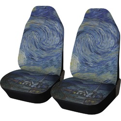 The Starry Night (Van Gogh 1889) Car Seat Covers (Set of Two)