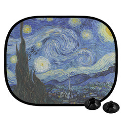 The Starry Night (Van Gogh 1889) Car Side Window Sun Shade