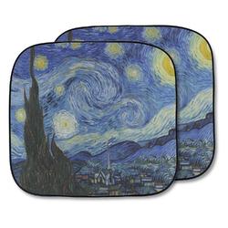 The Starry Night (Van Gogh 1889) Car Sun Shade - Two Piece