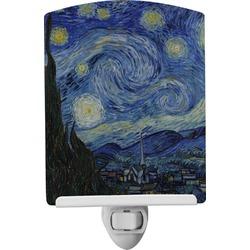 The Starry Night (Van Gogh 1889) Ceramic Night Light