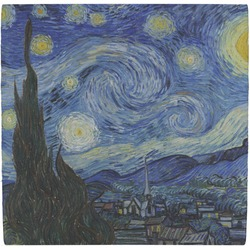 The Starry Night (Van Gogh 1889) Ceramic Tile Hot Pad