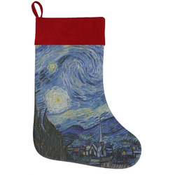 The Starry Night (Van Gogh 1889) Holiday / Christmas Stocking