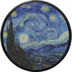 The Starry Night (Van Gogh 1889) Round Trailer Hitch Cover