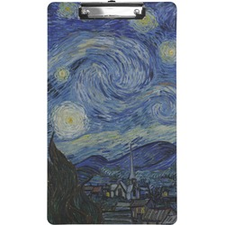 The Starry Night (Van Gogh 1889) Clipboard (Legal Size)